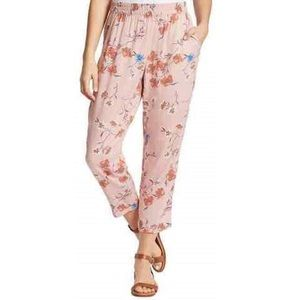 Jessica Simpson XL Soft Printed Pant Pink Floral